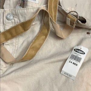 NWT $29.50 lowwaist size 14 Bootcut Corduroy pants